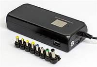 Адаптер питания для ноутбука от 220V и прикуривателя  HQ-Tech 4-in-1LCD HQ-AD90MU универсальный 90W
