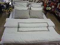 Двуспальное евро постельное белье из оршанского льна