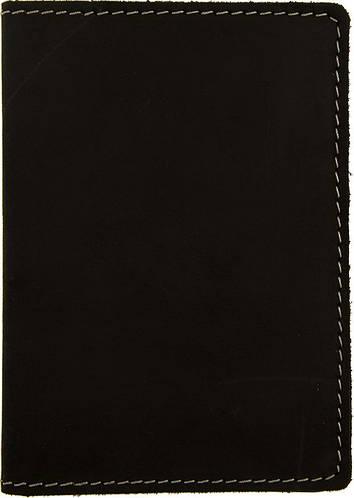 Кожаная обложка для документов и пластиковых карт Black Brier ОП-4-35 черная