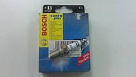 Свеча зажигания  Bosch Super Plus FR7DCX +11 под газ - производства Китай