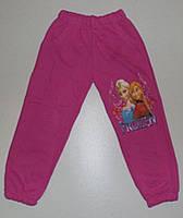 Спортивные штаны с начесом  для девочки Замороженные