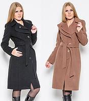 Женское кашемировое демисезонное пальто  NIO Венера
