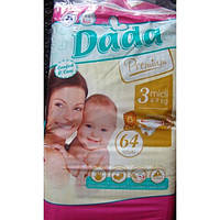 Подгузники детские DADA 3 (4-9кг, 64шт)