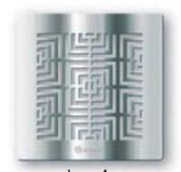 Вытяжной вентилятор Blauberg Lux 100-4, Блауберг Lux 100-4