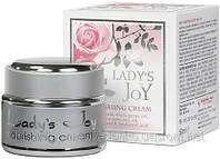 """Питательный крем """"Lady`s Joy"""" с натуральным розовым маслом """"Болгарская роза - Карлово"""", 20 мл"""