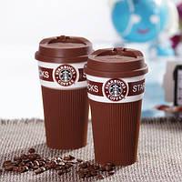 Чашка керамическая кружка Starbucks Brown
