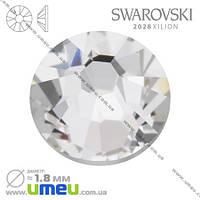 Стразы Swarovski 2028 Crystal, HotFix, SS5 (1,8 мм), 1 шт. (STR-009824)