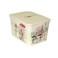 Декоративный ящик для хранения Curver Decos Miss Paris L