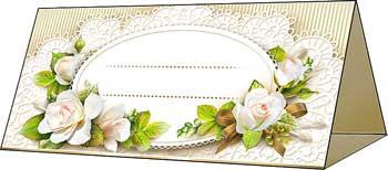Банкетная , рассадочная карточка для гостей (20 шт.)