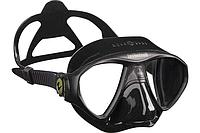 Маска для подводной охоты, фридайвинга Technisub Micromask Чёрный, прозрачный силликон/ Лучшая