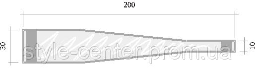 ножки для воблера 160 мм