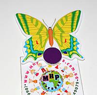 Магнитный стенд для крепления рисунка Бабочка