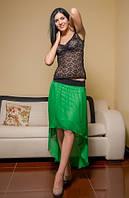 Юбка женская Шифон со шлейфом