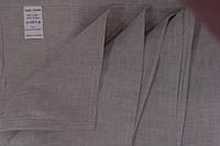 Льняное полотенце 70х140 серое