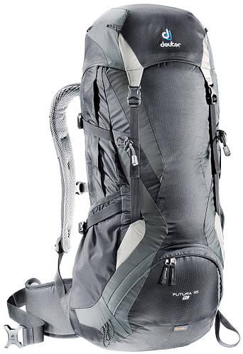 Туристический, походный рюкзак 34+4 л. для высоких людей FUTURA 35 EL DEUTER, 33244 7410 черный