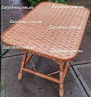 Стол из лозы, в украинском стиле, детский