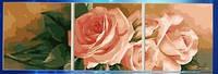 """Набор алмазной мозаики """"Триптих розы"""""""