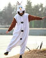 Пижама кигуруми kigurumi снеговик Олаф frozen холодное сердце