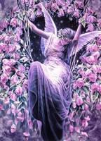 """Набор алмазной вышивки (мозаики) """"Сон ангела"""""""