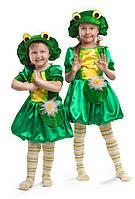"""Карнавальный костюм для девочки на праздник """"Лягушки"""""""