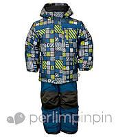 Термокомплект зимний курточка и штаны для мальчика, 4-7 лет, VH239B