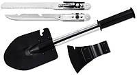 Набор туристический X-14 (4 в 1) топор, пила, нож, лопата MHR /45-5