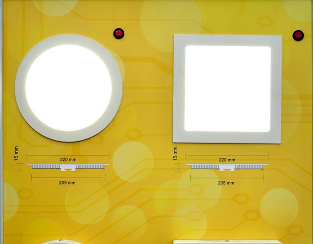 светильники светодиодные потолочные встраиваемые фото