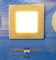 Светодиодный светильник встраиваемый Bellson квадрат (6 Вт, 120х120 мм), фото 1