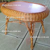 Кухонный столик плетеный