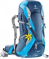 Рюкзак 34+4 л. для недолгих походов и прогулок в горах FUTURA PRO 34 SL DEUTER, 34264 3306 синий