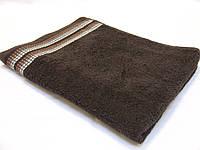 Полотенца махровые (диз. 314 шоколадный)