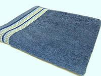 Полотенца махровые (диз. 315 темный синий)