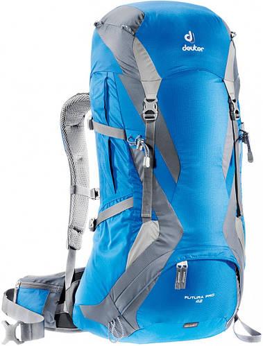 Рюкзак для турпоходов в горы, хайкинга 42+5 л. FUTURA PRO 42 DEUTER, 34294 3370 синий