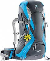 Рюкзак женский для туризма, трекинга 40+4 л. FUTURA PRO 40 SL DEUTER, 34284 4319 черный