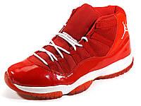 Jordan (копия) баскетбольные кроссовки красные, фото 1