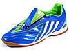 Бампы Adidas Predator (копия) футзалки синие подошва полиуретан
