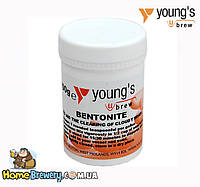 Бентонит Young's (Bentonite) 100г для осветления вина