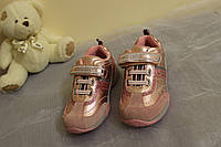 Розовые кроссовки для девочки. Размер 24 - 28