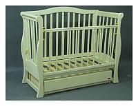 Детская кроватка-диванчик Viva слоновая кость