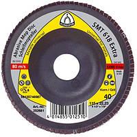 Круг лепестковый тарельчатый Klingspor SMT 618 p60 125*22,23мм