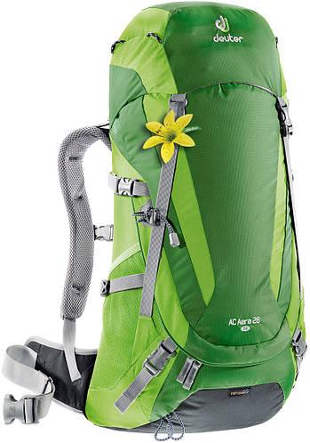 Туристический рюкзак 28 л., женский для треккинга, хайкинга AC AERA 28 SL DEUTER, 34724 2208 зеленый