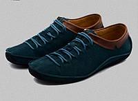 Молодежные мужские замшевые туфли