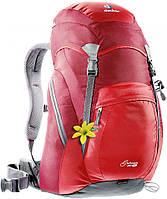 Походный рюкзак 25 л. для бэклекинга, горного туризма DEUTER GRODEN 30 SL, 34520 5520 красный