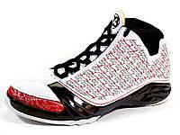 Кроссовки Jordan Air 23 (копия) баскетбольные черные/белые, фото 1