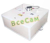 Инкубатор механический «Курочка Ряба» ИБ-130 вместимостью 130 яиц с двойным пластиковым корпусом