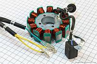 Статор магнето ― генератора  12 катушек   на мотоциклы с  двигателем CG  200cc
