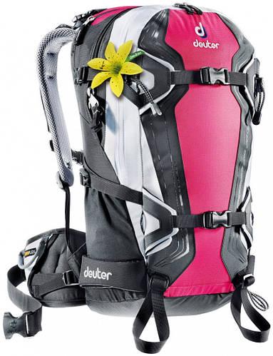 Женский рюкзак для бэккантри или фрирайда 28 л. DEUTER FREERIDER 28 SL, 33524 5105 розовый