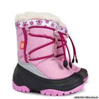 Зимние сапоги - дутики - сноубутсы детские Demar Fuzzy 4030 (розовый)