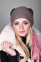 Модная шапка с ушками 119, фото 1