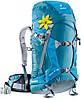 Рюкзак женский для скитура, фрирайда 30 л. DEUTER RISE 30+ SL, 33661 3301 голубой
